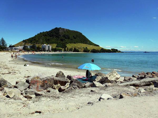 Photograph - Mt Maunganui Beach 5 - Tauranga New Zealand by Selena Boron