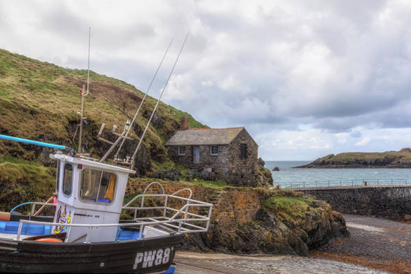 Lizard Photograph - Mullion Cove - England by Joana Kruse