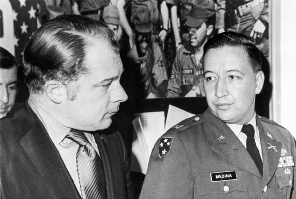Commander Photograph - My Lai Massacre Inquiry by Underwood Archives