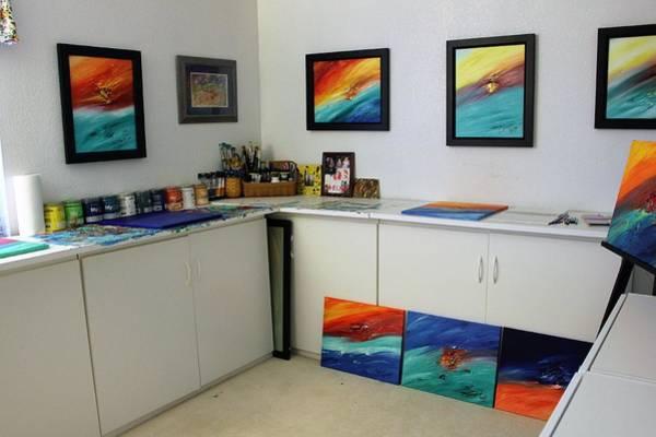 Painting - My Studio by Brenda Basham Dothage