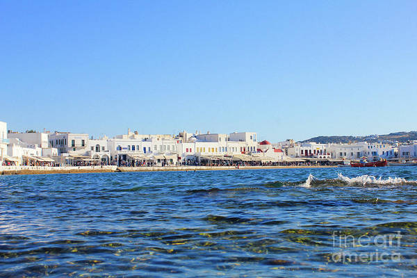 Photograph - Mykonos Town by Donna L Munro