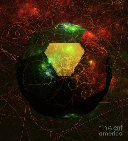 Scifi Digital Art - Mysteries Of The Universe By Raphael Terra by Raphael Terra
