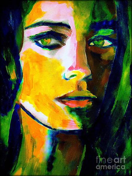 Painting - Naked Gaze by Helena Wierzbicki