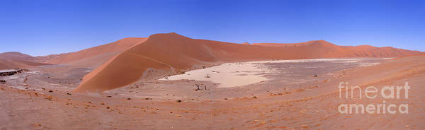 Photograph - Namib Hidden Vlei Panorama by Warren Photographic