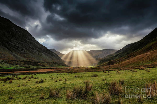 2017 Photograph - Nant Ffrancon Pass Snowdonia by Adrian Evans