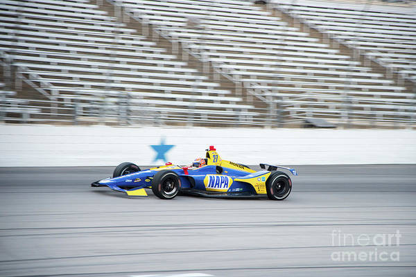 Photograph - Alexander Rossi Napa #27 by Paul Quinn