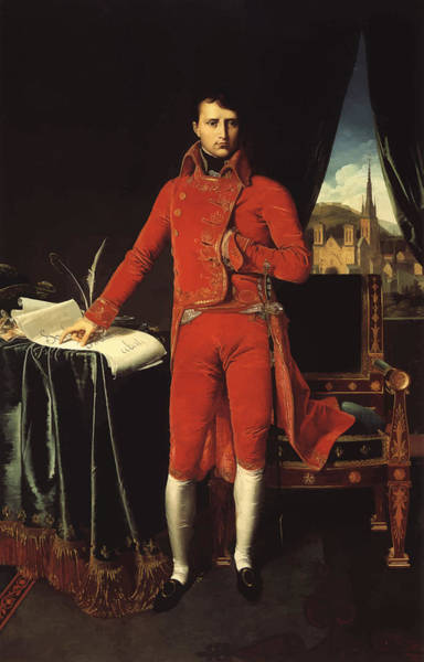 Military Painting - Napoleon Bonaparte by War Is Hell Store
