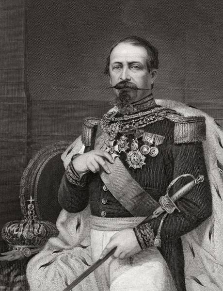 Wall Art - Drawing - Napoleon IIi Also Called Until 1852 by Vintage Design Pics