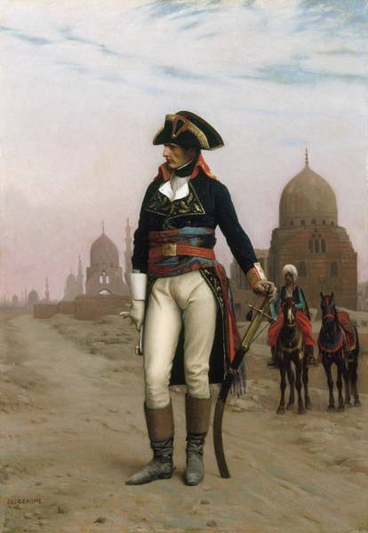 Embroidery Painting - Napoleon In Egypt by Jean - Leon Gerome