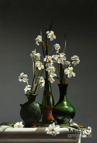 Wall Art - Painting - Narcissus by Lawrence Preston