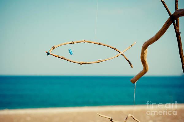 Photograph - Nature Sculpture At Coast Seascape Artmif.lv by Raimond Klavins