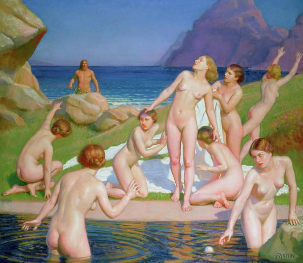 Odysseus Painting - Nausicaa by William McGregor Paxton