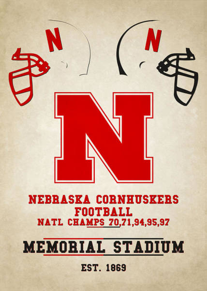 Nebraska Photograph - Nebraska Cornhuskers by Joe Hamilton