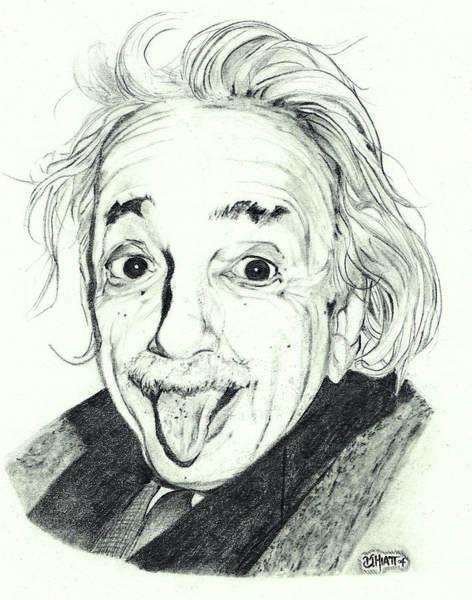 Drawing - Neener Neener by Jhiatt