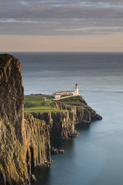 Photograph - Neist Point At Sunset by Maria Gaellman