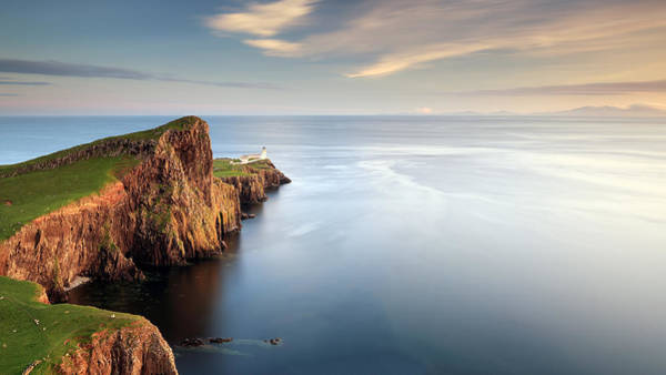 Photograph - Neist Point Sunset by Grant Glendinning