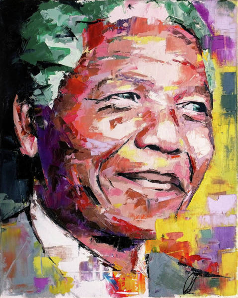 Different Painting - Nelson Mandela by Richard Day