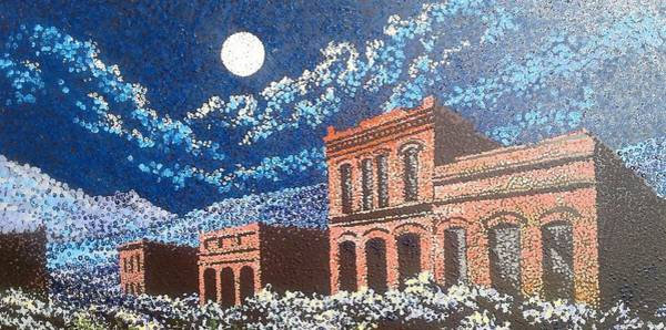Painting - Nevada Ghost Town by Kevin Heaney