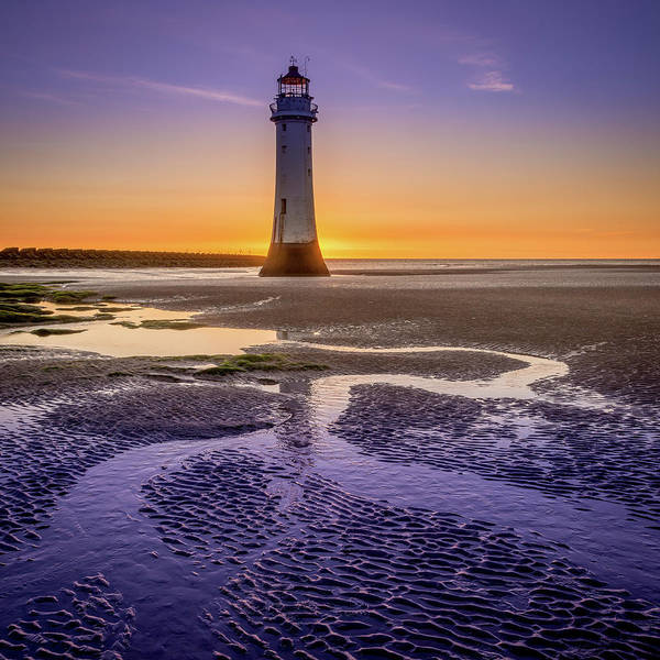 Photograph - New Brighton Lighthouse by Peter OReilly