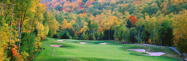 Wall Art - Photograph - New England Golf Course New England Usa by Panoramic Images