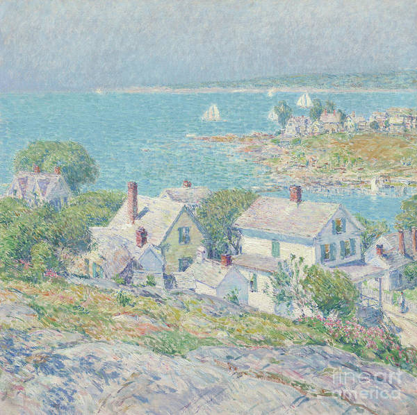 Painting - New England Headlands by Childe Hassam