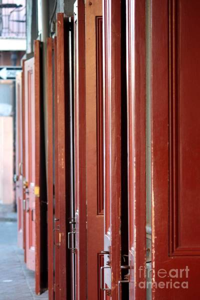Photograph - New Orleans Doors by Carol Groenen