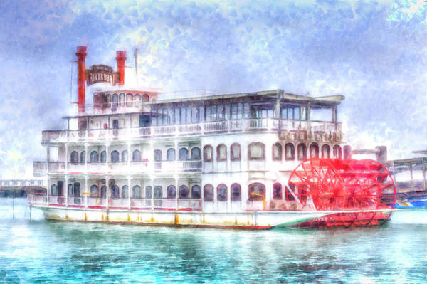 Wall Art - Photograph - New Orleans Paddle Steamer Art by David Pyatt