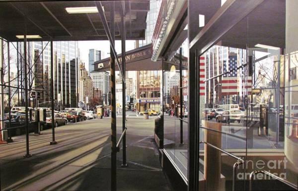 Photograph - New York City Street by Ted Pollard