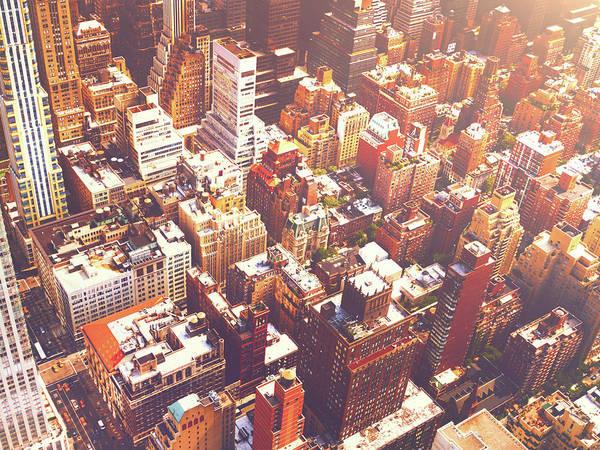 Wall Art - Photograph - New York City Summer by Vivienne Gucwa
