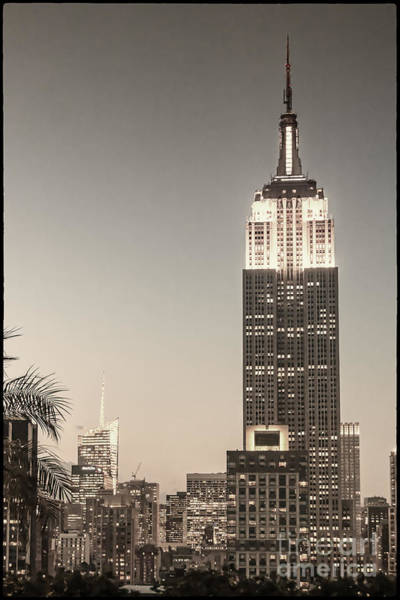 Photograph - New York Empire State Building by Juergen Held