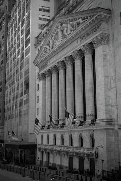 Photograph - New York Stock Exchange  by Robert J Caputo