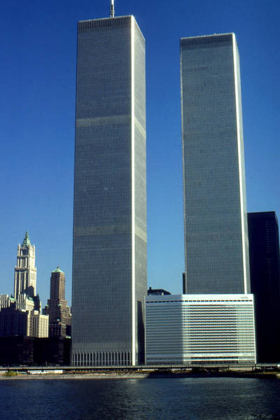Photograph - New York World Trade Center Before 911 Photo by Peter Potter