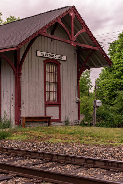Photograph - Newfoundland Train Station New Jersey by Terry DeLuco