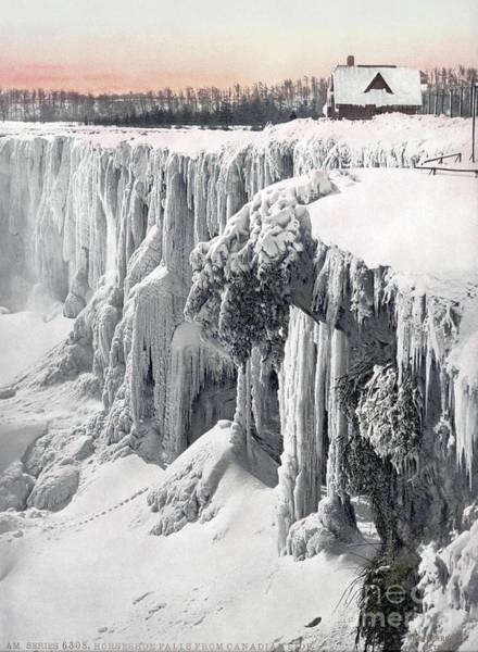 Photograph - Niagara Falls, C1900.  by Granger