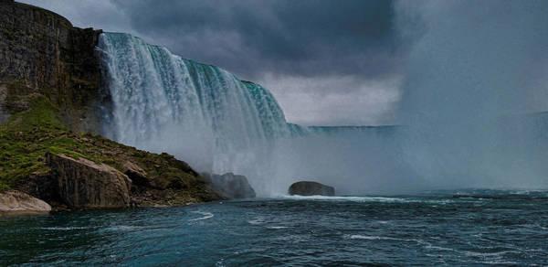 The Maid Photograph - Niagara Falls by Martin Newman