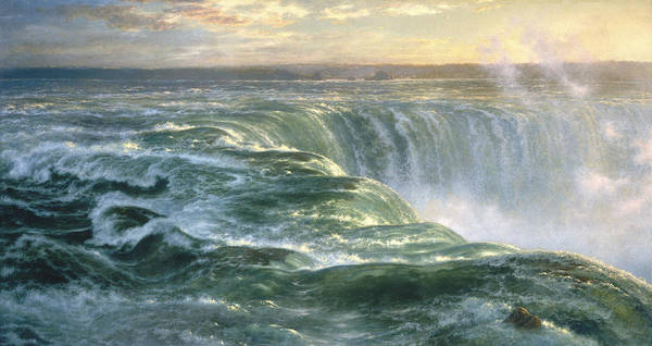 Painting - Niagara by Louis Remy Mignot