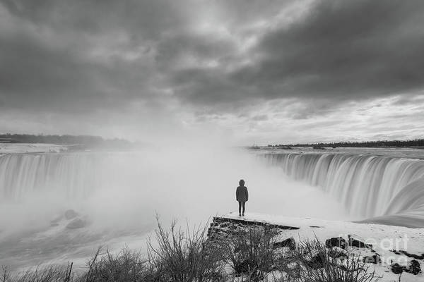 Photograph - Niagaras Fury  by Michael Ver Sprill