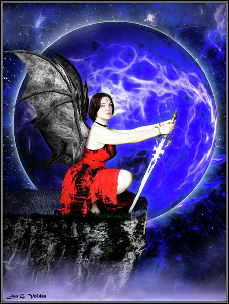 Photograph - Night Of The Succubus by Jon Volden