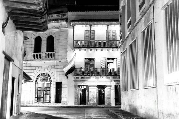 Photograph - Night Scene In Cartagena by John Rizzuto