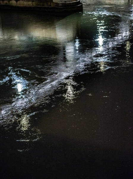 Tiber Island Wall Art - Photograph - Night Stream by Joseph Yarbrough