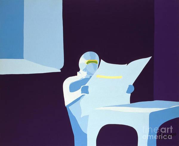 Painting - Night Watchman by John Bowers