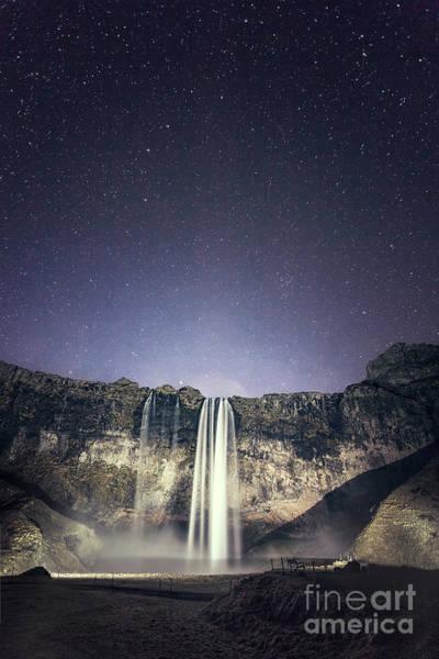 Northern Photograph - Nightfall by Evelina Kremsdorf