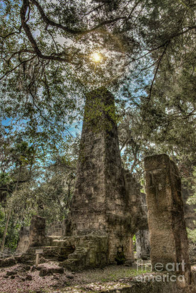 Flagler Beach Photograph - Noble Ruins by Charles Stackpole