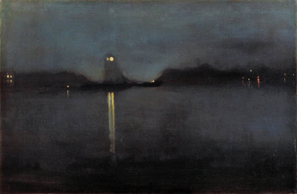 Painting - Nocturne by James Abbott McNeill Whistler