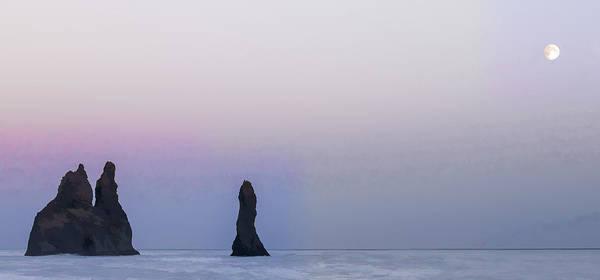 Iceland Digital Art - Norsemen's Moon II by Jon Glaser