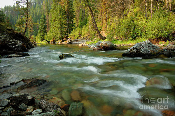 North Idaho Photograph - North Fork Of The St. Joe by Idaho Scenic Images Linda Lantzy