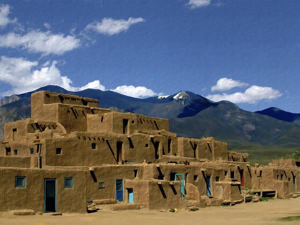 Photograph - North Pueblo Taos by Kurt Van Wagner