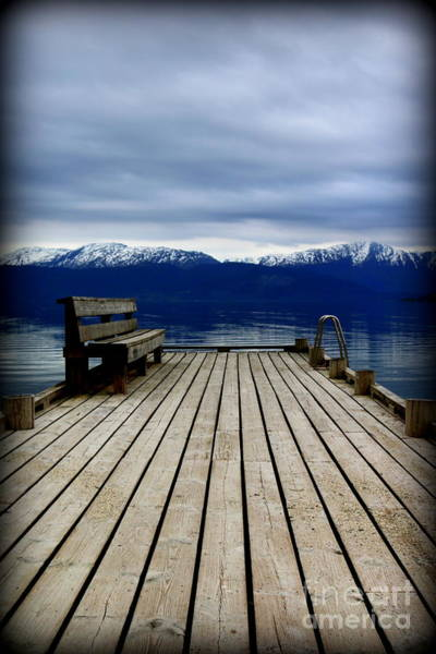 Wall Art - Photograph - Norway Serenity by Hanni Stoklosa
