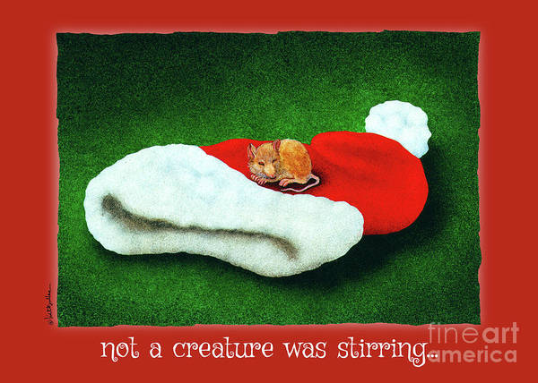 Painting - Not A Creature Was Stirring... by Will Bullas