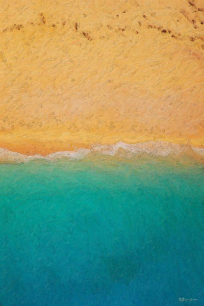 Wall Art - Photograph - Not Quite Rothko - Surf And Sand by Serge Averbukh